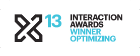2013InteractionAwards_WinnerOptimizing